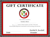 Click Here To Find Out More About Our Gift Certificates